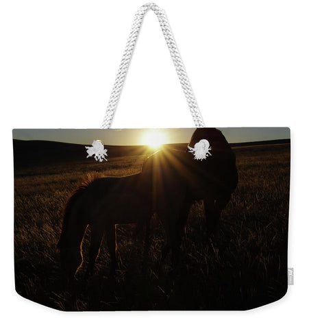Sunset Love Weekender Tote bag