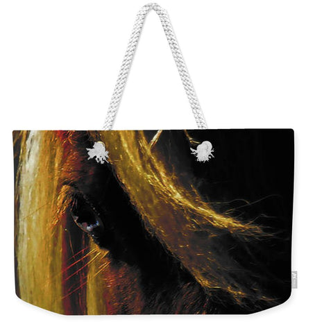 Sunset on the Wild Weekender Tote bag