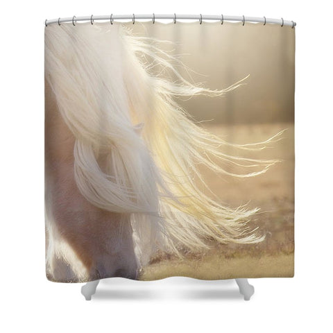 Texas Gold Shower Curtain