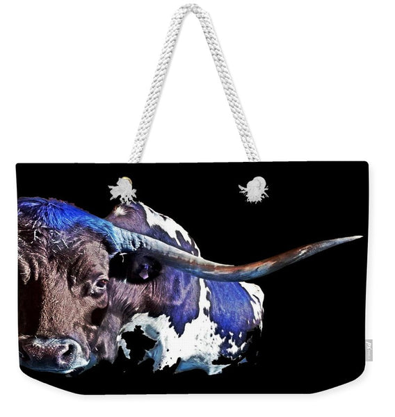 Texas in the Moonlight Weekender Tote bag