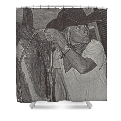That Cowgirl Within Shower Curtain
