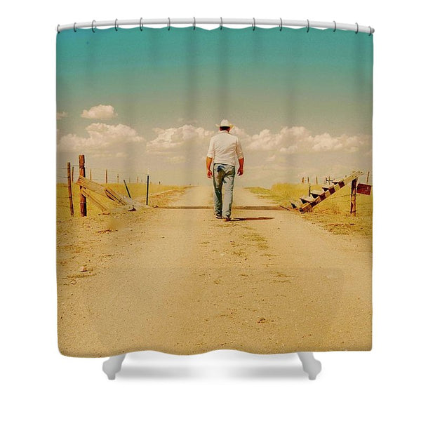 That Dusty Road Shower Curtain
