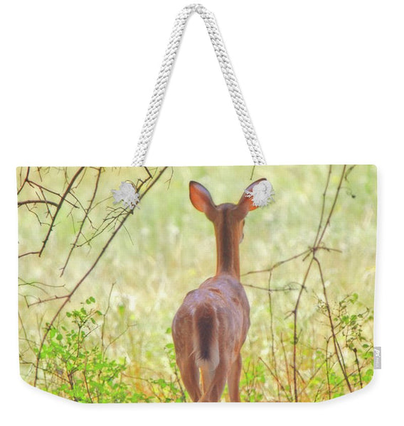 The Forest Through the Trees Weekender Tote bag