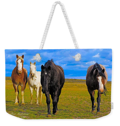 The Four Musketeers Weekender Tote bag