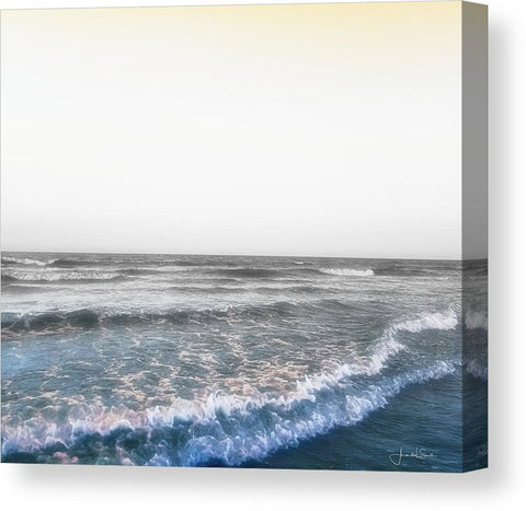 The Gulf at Galveston Canvas Art Prints