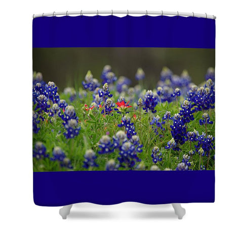 The Lone Star Shower Curtain