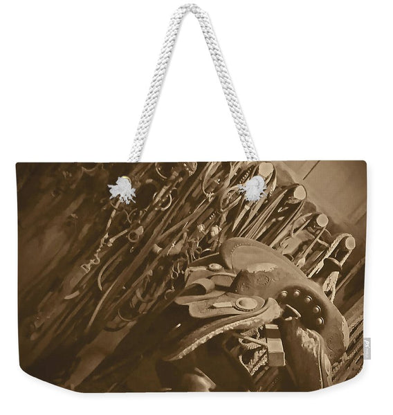 The Tack Room Weekender Tote bag