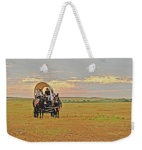 Those Were the Days My Friend Weekender Tote bag