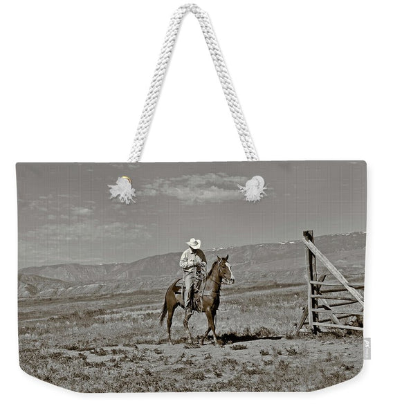Those Wild Montana Skies Weekender Tote bag