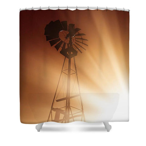 Tommy's Windmill Shower Curtain