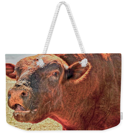 Too Close for Bull Weekender Tote bag