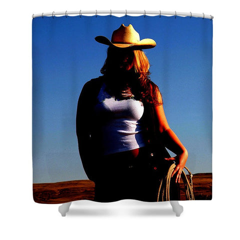 Tougher Than Nails Shower Curtain