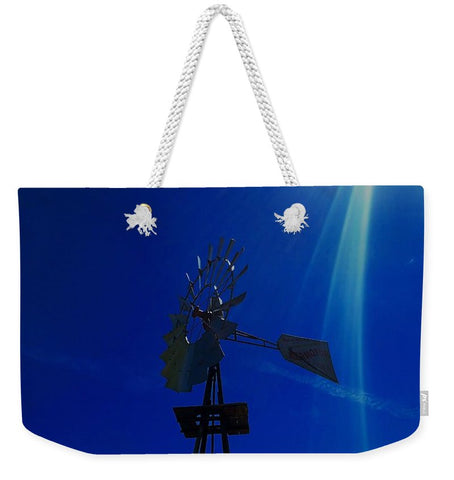 Underwater Windmill Weekender Tote bag