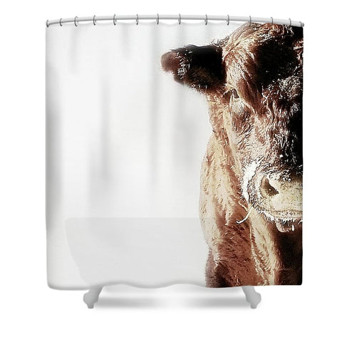 Power and Ice Shower Curtain