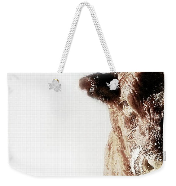 Power and Ice Weekender Tote bag