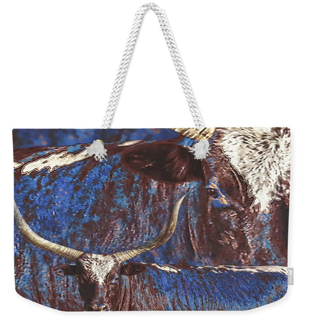 Watusi Blues Weekender Tote bag