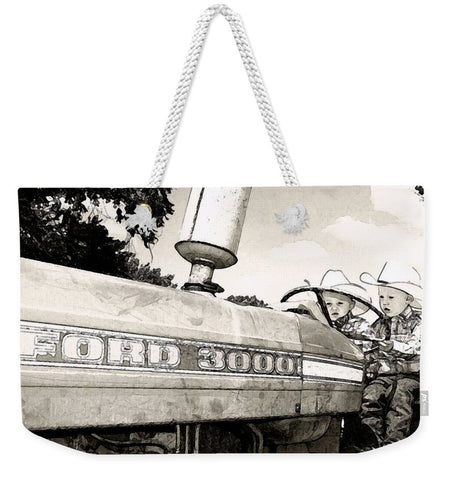 We Got This Weekender Tote bag