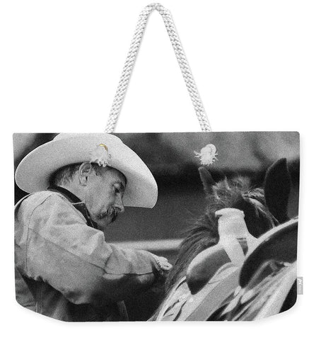 When You're Ready To Ride Weekender Tote bag