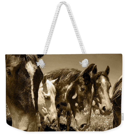 Whimsical Stallions Weekender Tote bag