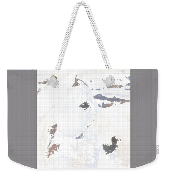 White Desert Ghost Weekender Tote bag