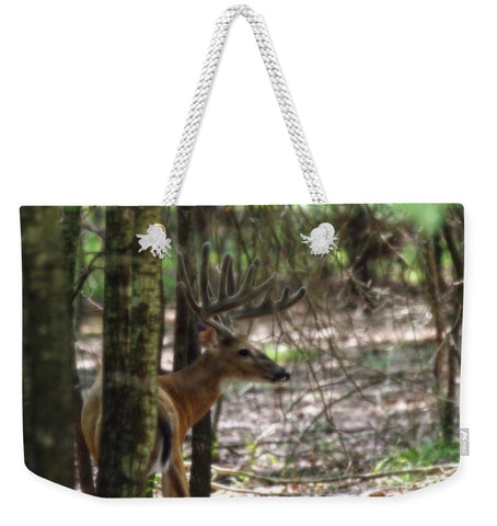 Whitetail Buck Weekender Tote bag