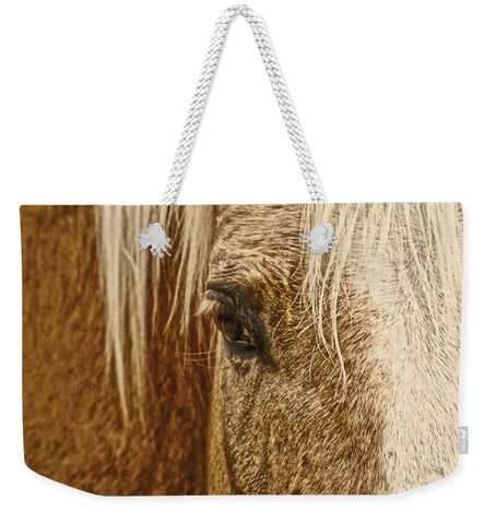 Wickenburg's Palomino Gold Weekender Tote bag