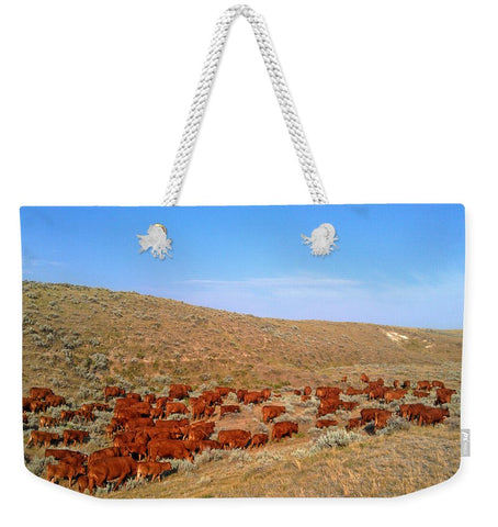 Wyoming Reds Weekender Tote bag