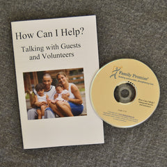 """How Can I Help?"" DVD and booklet"