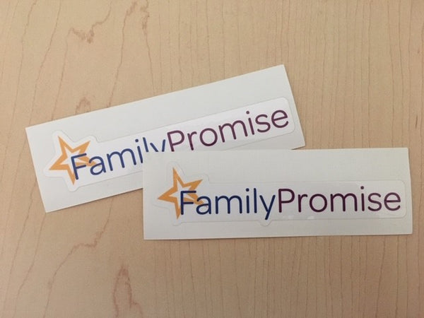 Family Promise Sticker - Full Logo