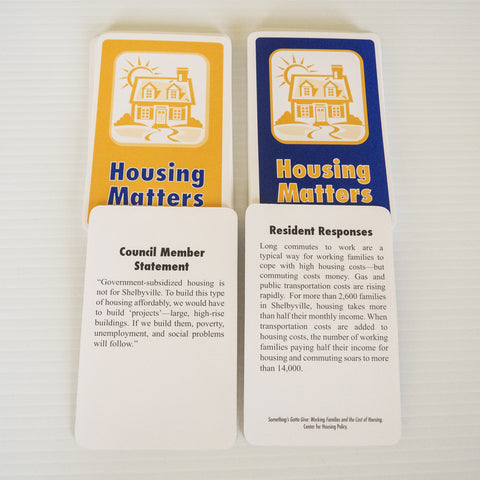 Cards - Housing Matters (set of 45)