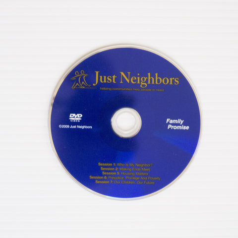 Just Neighbors® Video DVD (for Sessions 1, 2, 5, 6 & 7)