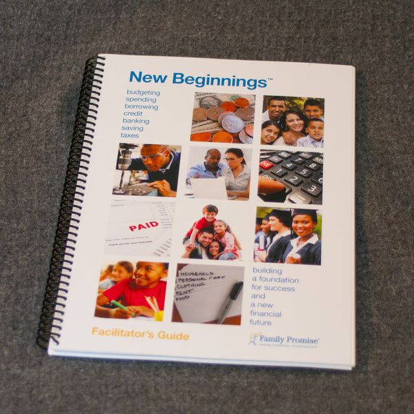 New Beginnings® Financial Literacy Facilitator's Guide - Nonprofit Edition