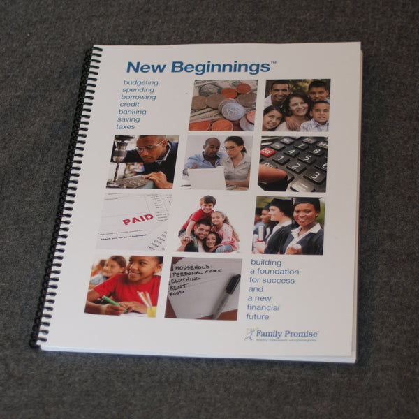 New Beginnings® Financial Literacy Curriculum - Affiliate Edition