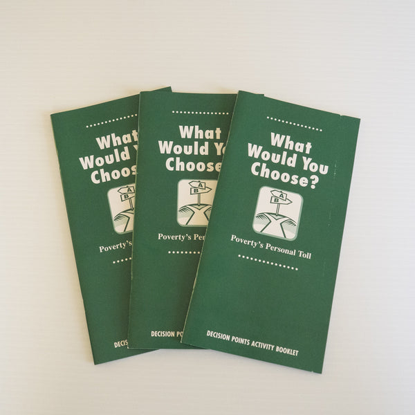 What Would You Choose booklets (set of 8)