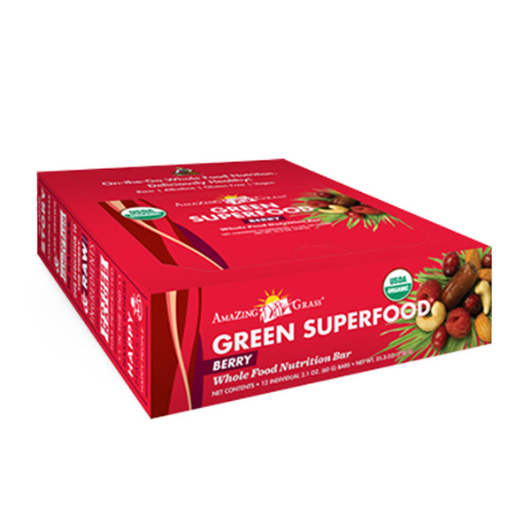 Green SuperFood Energy Bars (12 Count) - ninesis