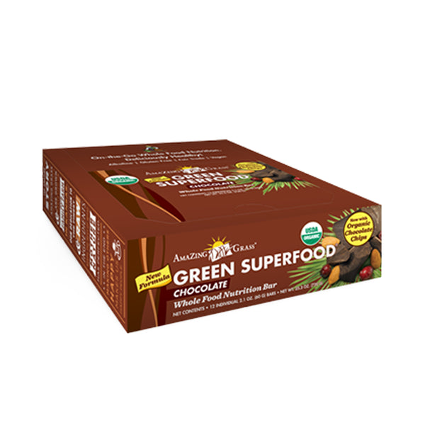 Green SuperFood Energy Bars-Chocolate - ninesis