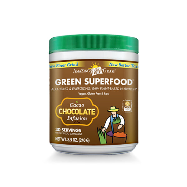 Green SuperFood Chocolate Infusion - ninesis