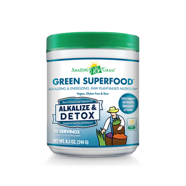 Green SuperFood Alkalize Detox - ninesis