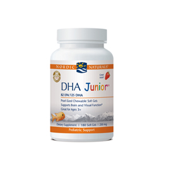 DHA Junior - Strawberry 180 gel caps - ninesis