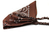 Brown Bandanna Kerchief Headband