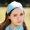 Light Blue Bandanna Headband