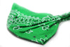 Green Bandanna Headband