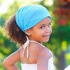Turquoise Blue Extra Wide Headband