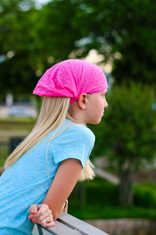 Girl's Extra Wide Headband