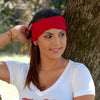 Red Turban Headband