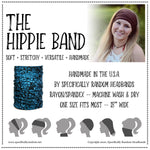 Red Flowers Hippie Band Headband