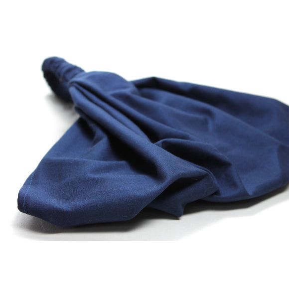 Navy Blue Solid Modest Headcovering