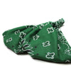 Hunter Green Bandana Headscarf
