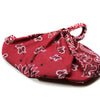 Dark Red Bandana Headwrap