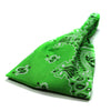 Lime Green Bandana Wide Headband